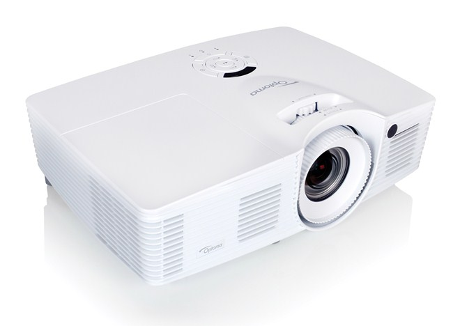 Optoma wu416 4200lm dlp business projector sound x for Small powerful projector