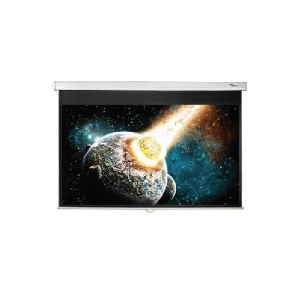 200 x 144 16 by 9 projection screen