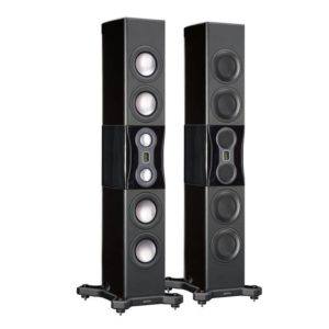 monitor audio platinum pl500 II floorstanders black