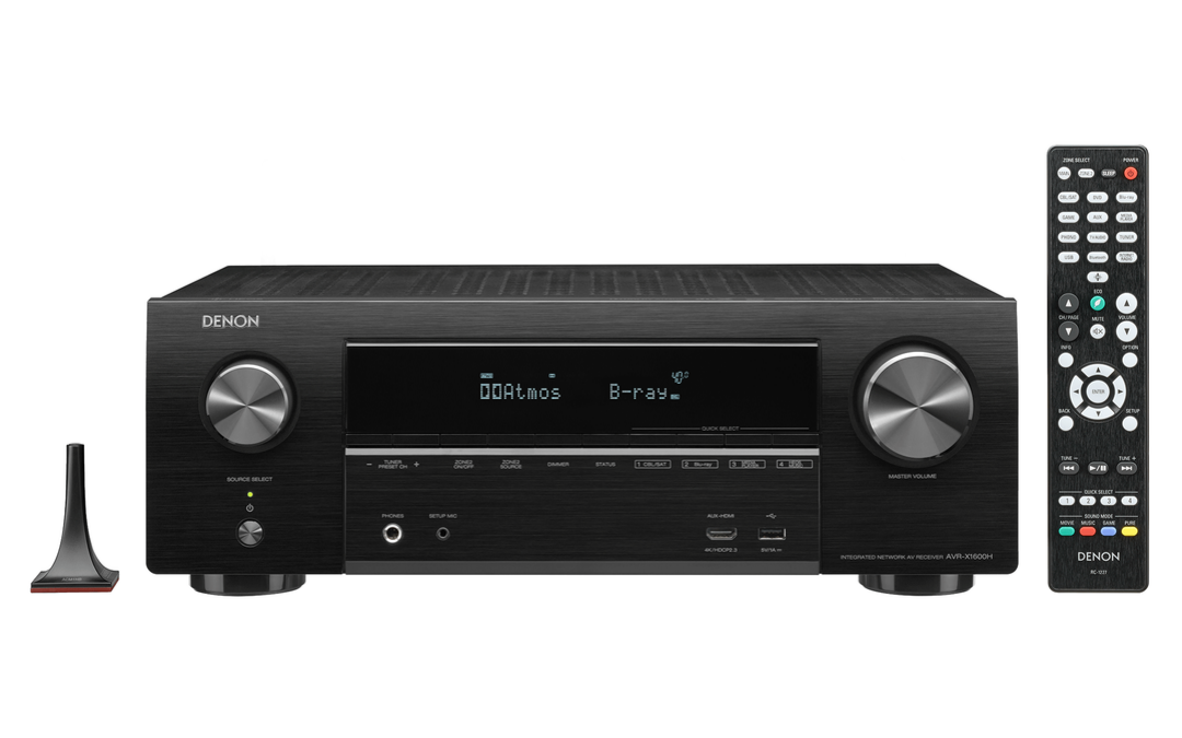 When It Comes To Receivers, Denon Does It Best