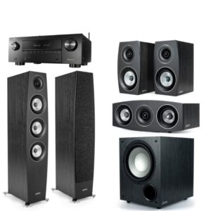 Jamo C97 II 5.1 Home Theatre With Denon AVC-x3700H Black