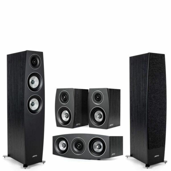 jamo c95 speakers front view