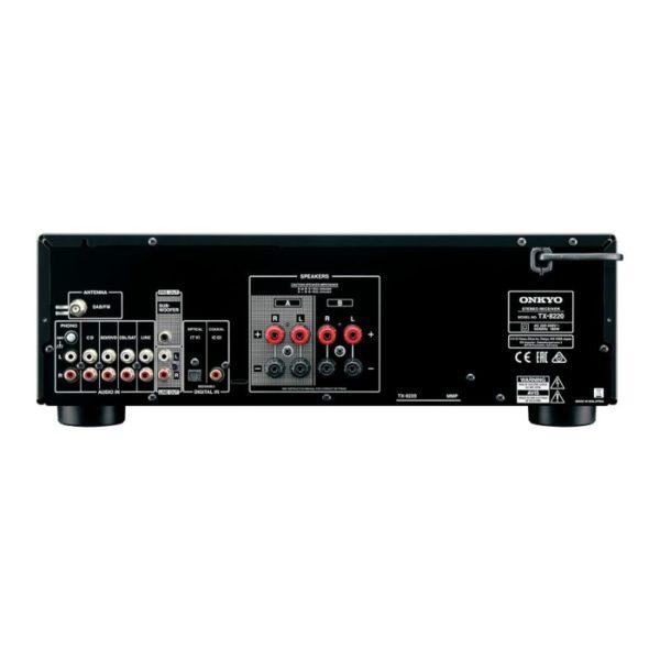 onkyo tx-8220 stereo receiver back