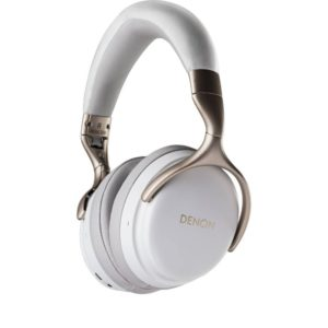 Denon AHGC25W Headphones Front View