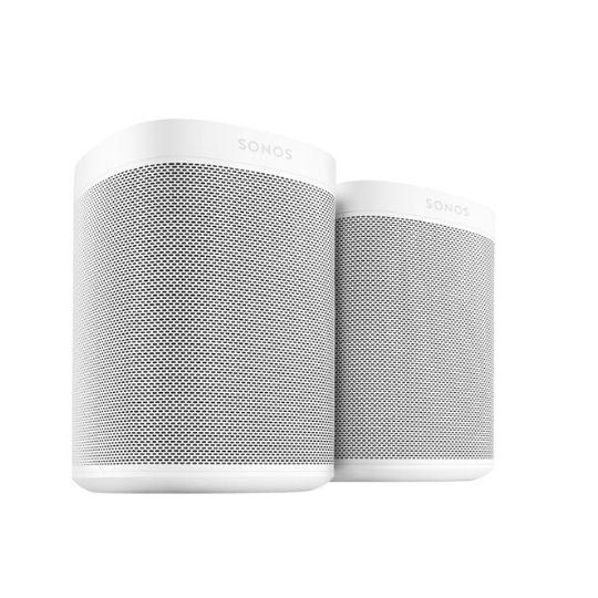 sonos one wireless speaker with alexa