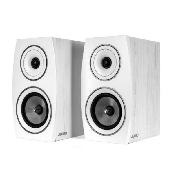 jamo c93 ii bookshelf speakers front view