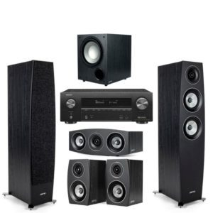 Jamo C95II 5.1 Home Theatre System With Denon AVR-x1600H