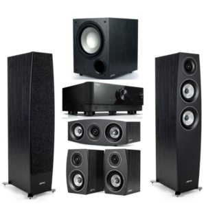 Jamo C95II 5.1 Home Theatre System With Yamaha RX-V6A Amplifier
