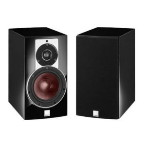 dali rubicon 2 pair bookshelf speakers black
