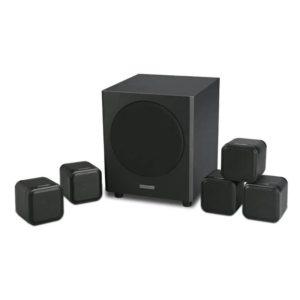 Mission Cube + SE 5.1 Speaker System