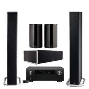 DEFINITIVE-TECHNOLOGY-BP9060-HT-PACKAGE-AND-DENON-AVR-4500H