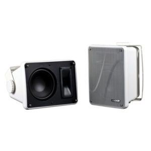Kicker KB6000 Speakers (White)