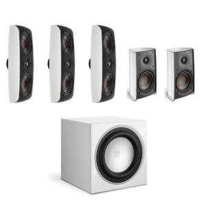 dali fazon 5.1 home theatre system white