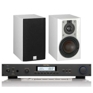 Dali Opticon 1 (White) And Rotel RA11 Integrated Amplifier