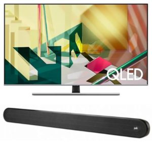 "Samsung 55"" Q70T QLED 4K Flat Smart TV (2020) With Polk Signa Solo Soundbar"