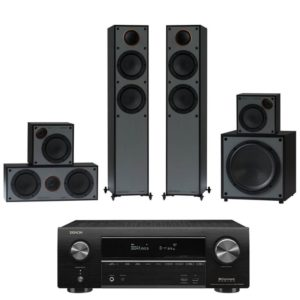 Monitor Audio Monitor 200AV 5.1 Home Theatre System With Denon AVR-X1600H Amplifier