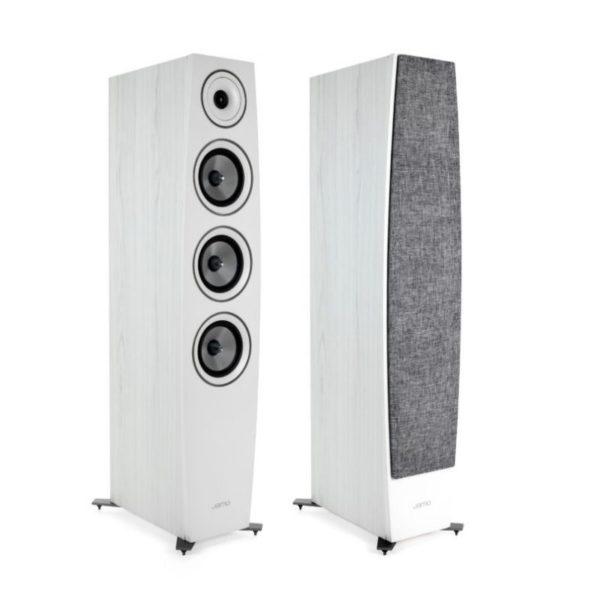 jamo c97 ii floorstanding speakers white
