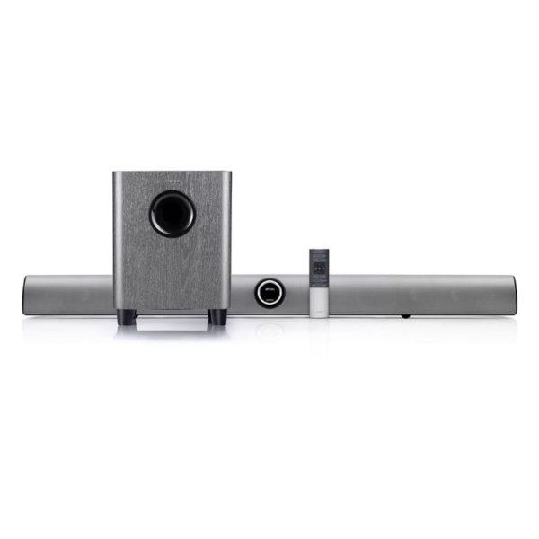 edifier b8 cinesound bluetooth soundbar with wireless sub