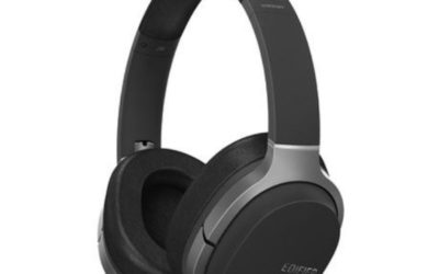 Edifier W830BT Bluetooth Stereo Headphones (Black)