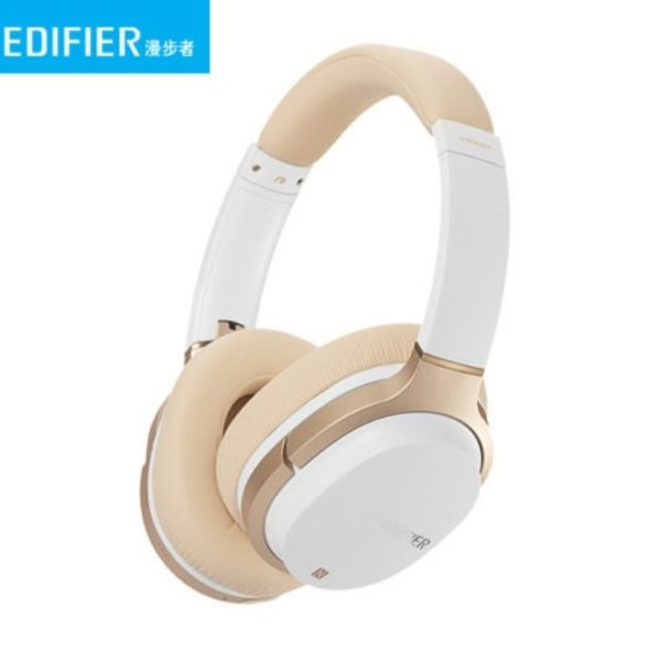 edifier bluetooth stereo headphones side view