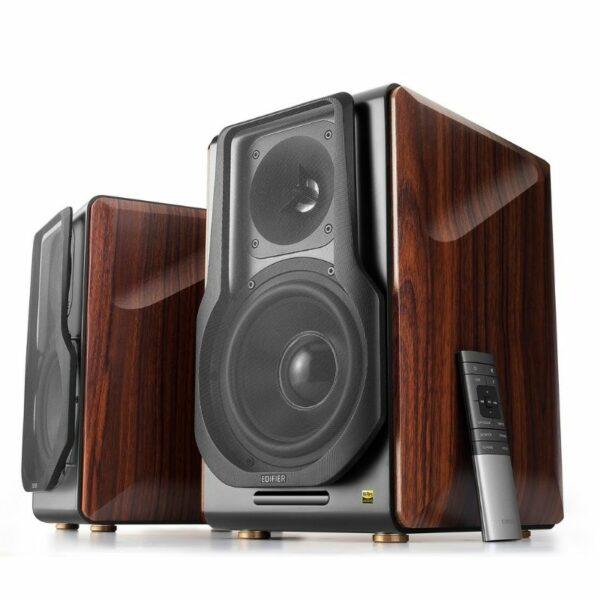 edifier s3000pro hi-res wireless active bookshelf speaker