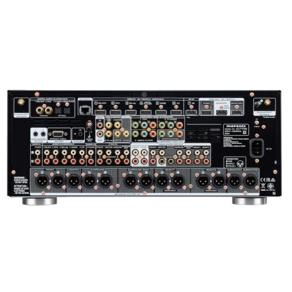 marantz av7706 11.2ch 8k ultra hd av surround pre-amplifier with heos built-in