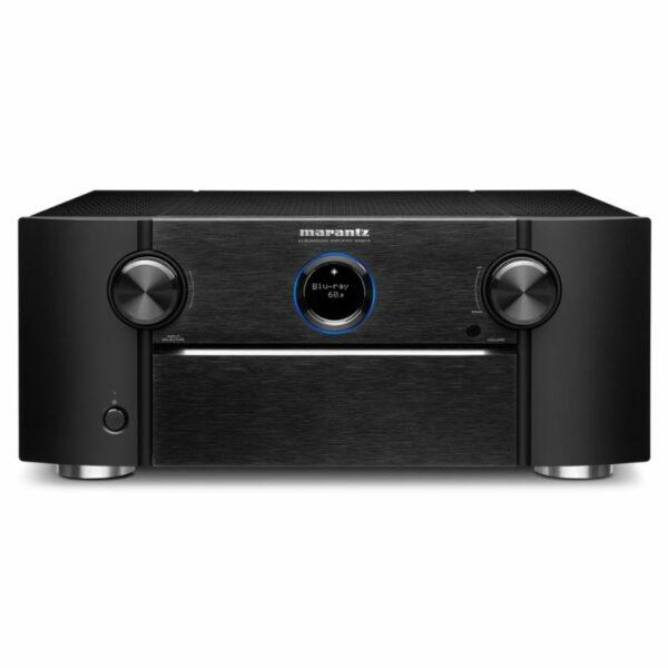 marantz sr8015 11.2ch. 8k av amplifier with 3d sound and heos built-in