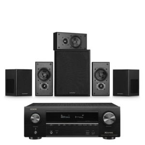Miller & Kreisel Movie 5.1 System With Denon AVR-x1600H Amplifier