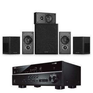 Miller & Kreisel Movie 5.1 System With Yamaha RX-V385 Amplifier