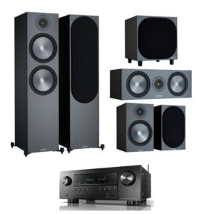 Monitor Audio Bronze 500 5.1 Home Theatre System With Denon AVR-S960H Amplifier