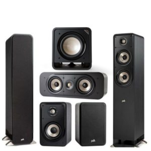 Polk Audio S50e Signature Series 5.1 Speaker System