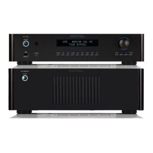 Rotel RC1572 Pre-Amplifier And RB-1552 Stereo Amplifier Combo