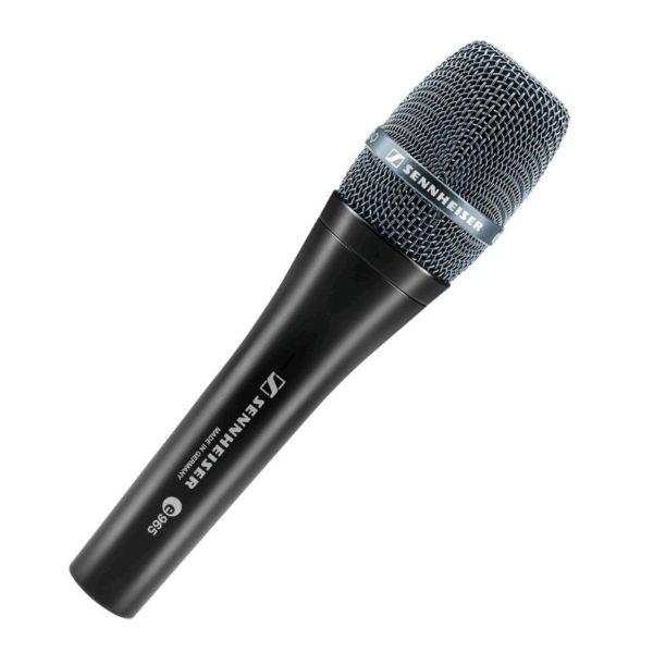 sennheiser e 965 condenser adjustable cardiod / super-cardiod vocal microphone