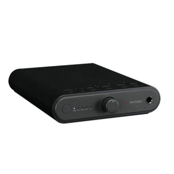 audiolab m-dac-mini side view