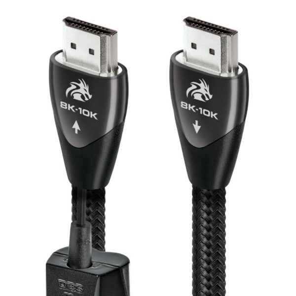 audioquest 2m dragon hdmi cable front view