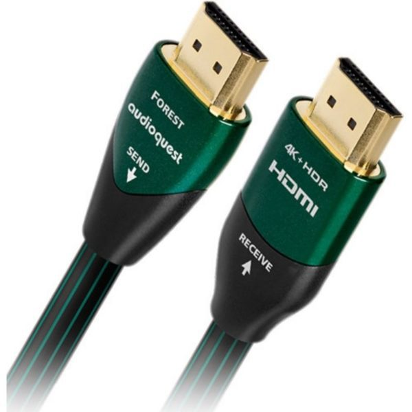 audioquest 3m forest hdmi cable front view
