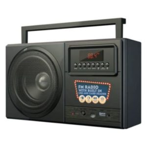 Bounce Boomer Radio with Bluetooth Front View