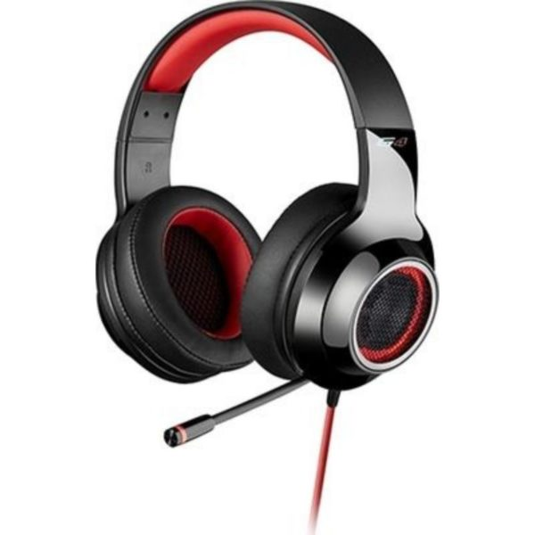 edifier surround sound gaming headset front view