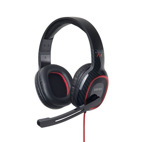 edifier surround sound gaming headset side view