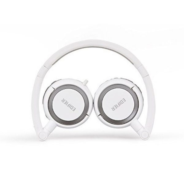 edifier wired over-ear headphone bended view