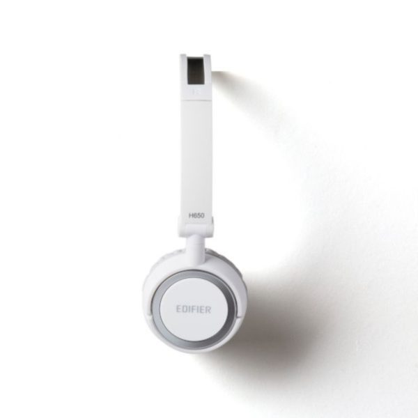 edifier wired over-ear headphone side view