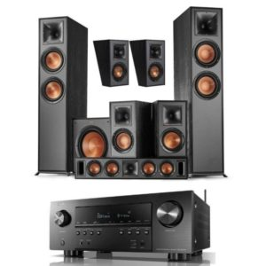 Klipsch Reference R-820F 5.1.2 System Plus FREE Klipsch R12SW Subwoofer With Denon AVR-S960H Amplifier