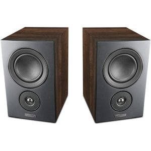 Mission 2-way Bookshelf Speakers Front View