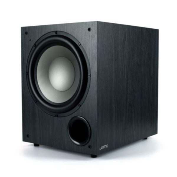 mission 200w active subwoofer side view