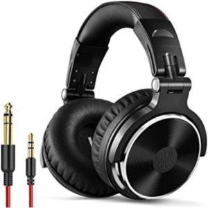 OneOdio DJ and Studio Headphones Front View