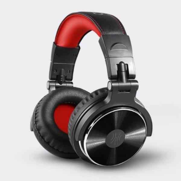oneodio dj and studio headphones side view
