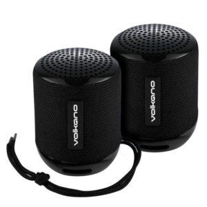 Volkano Gemini Bluetooth Speaker Front View