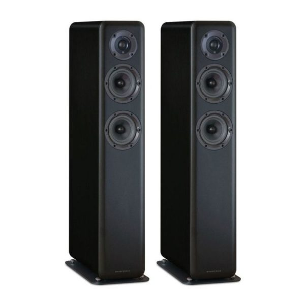 wharfedale floorstand speakers front view