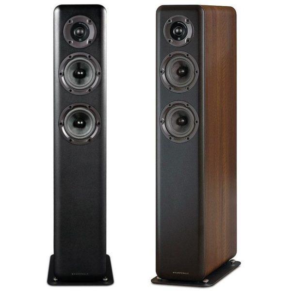 wharfedale floorstand speakers side view