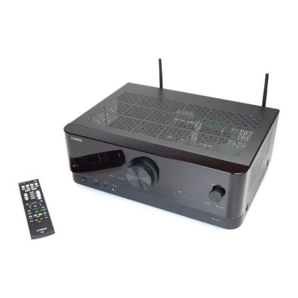 yamaha rx-v4a channel av receiver top view